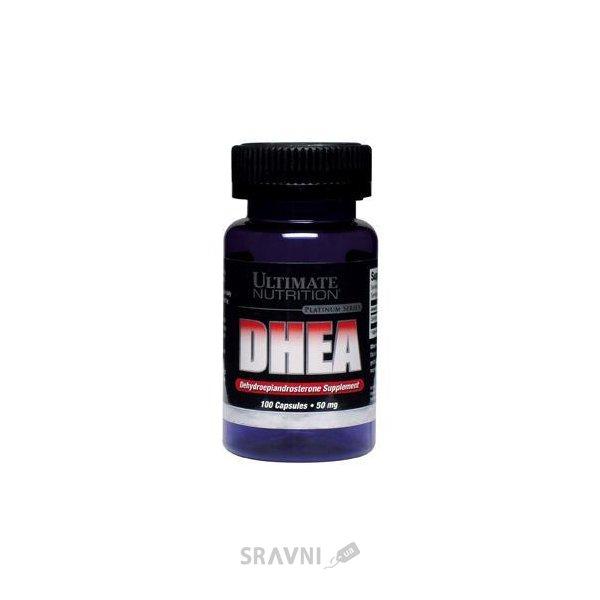 Фото Ultimate Nutrition DHEA 50 mg 100 caps