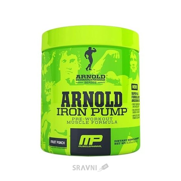 Фото MusclePharm Arnold Iron Pump 60 Servings (360 g)