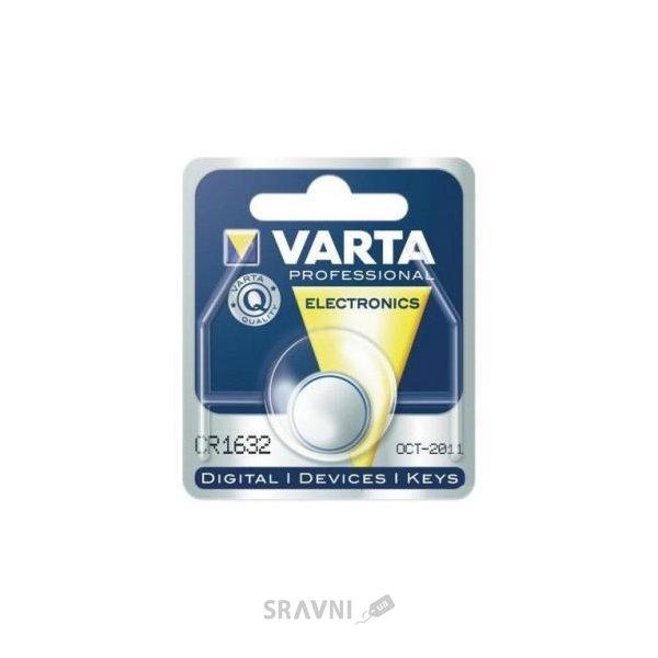 Фото Varta CR-1632 bat(3B) Lithium 1шт (06632101401)
