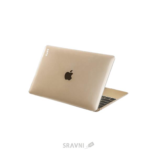 Фото LAUT Slim Cristal-X для MacBook 12 Clear (LAUT_MB12_SL_C)