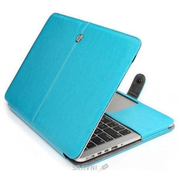 Фото TTX Leatherette case Apple MacBook Retina 13 Blue