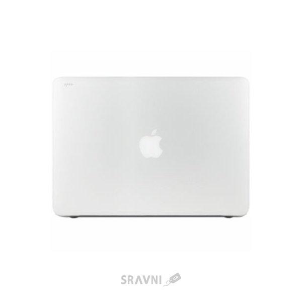 "Фото Moshi Ultra Slim Case iGlaze Translucent Clear for MacBook Pro 15"" Retina (99MO071903)"