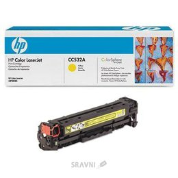 Цены на HP Картридж MAKKON для HP CLJ CP2025 /CM2320 аналог CC532A Yellow, фото