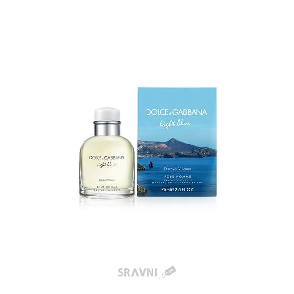 Фото Dolce & Gabbana Light Blue Discover Vulcano Pour Homme EDT