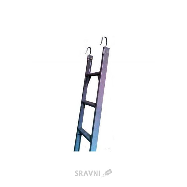 Фото ЗИМ Лестница диэлектрическая навесная 11 ступеней