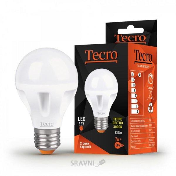 Фото Tecro LED 7W 3000K E27 (T2-A60-7W-3K-E27)