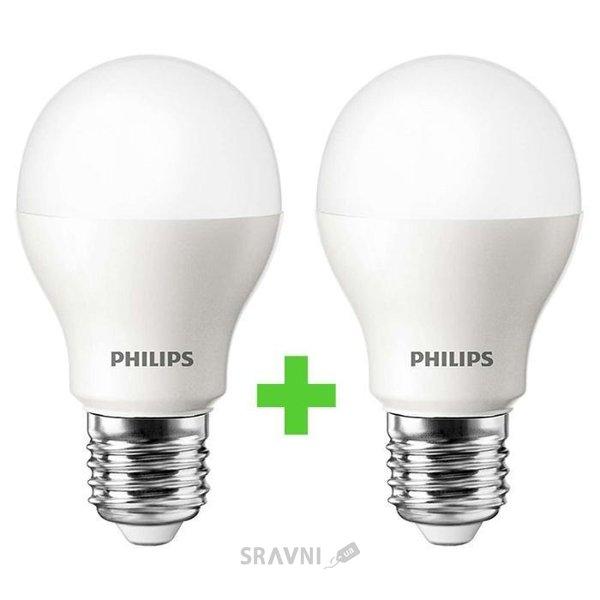 Фото Philips LEDBulb E27 7.5-60W 3000K 230V A55 (8711500817648)