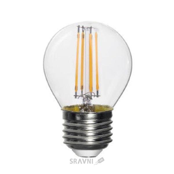 Фото EUROLAMP LED ArtDeco G45 4W E27 220-240V (LED-G45-04272(deco))