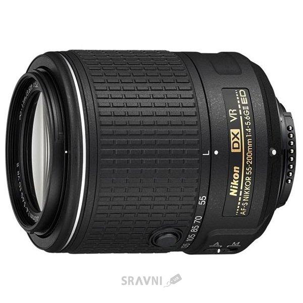 Фото Nikon 55-200mm f/4-5.6G AF-S DX ED VR II Nikkor