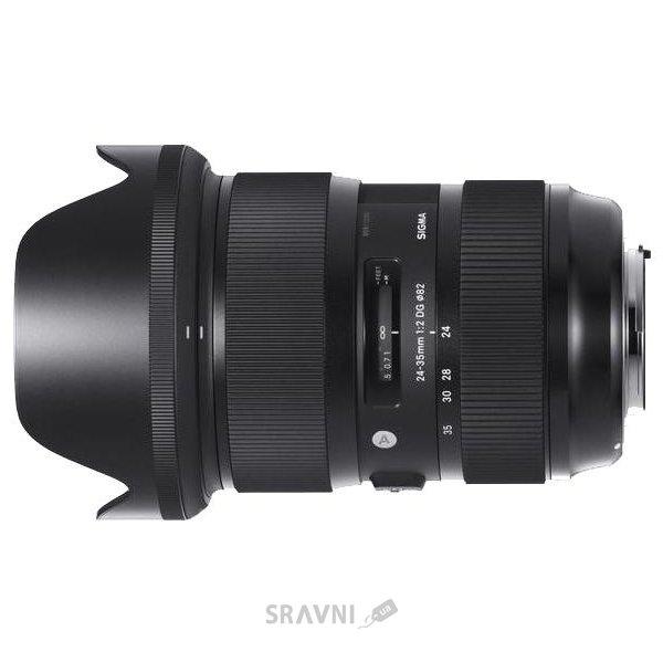 Фото Sigma 24-35mm f/2 DG HSM Art Canon EF