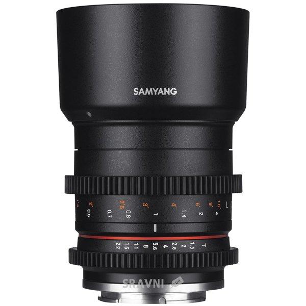 Фото Samyang 50mm T1.3 AS UMC CS Fujifilm X