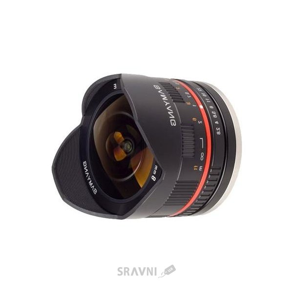 Фото Samyang 8mm f/2.8 UMC Fish-eye Fuji XF