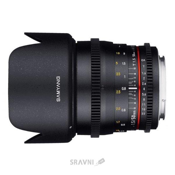 Фото Samyang 50mm T1.5 AS UMC VDSLR Sony E