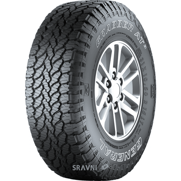 Фото General Tire Grabber AT3 (255/55R18 109H)