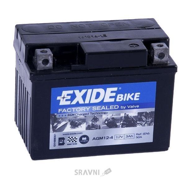 Фото Exide AGM12-4
