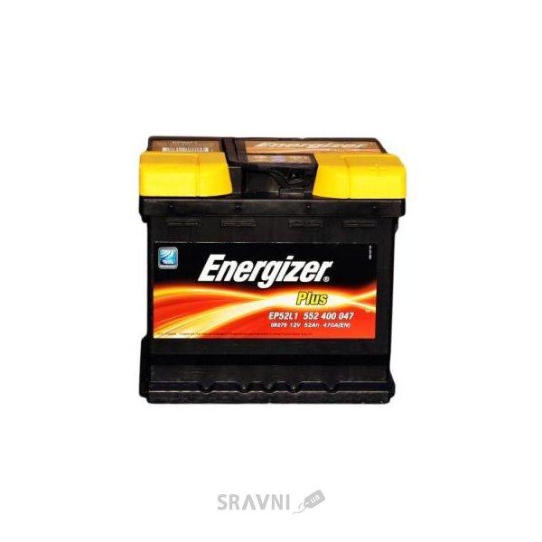 Фото Energizer 6СТ-52 Plus (EN470)