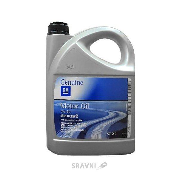 Фото GM Oil Dexos 2 Longlife 5W-30 5л