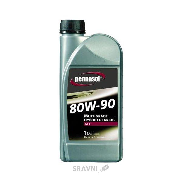 Фото Pennasol Multigrade Hypoid Gear Oil GL-5 80W-90 1л