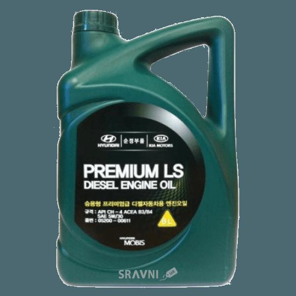 Фото Mobis Premium LS 5W-30 ACEA B3 API CH-4 4л (0520000411)