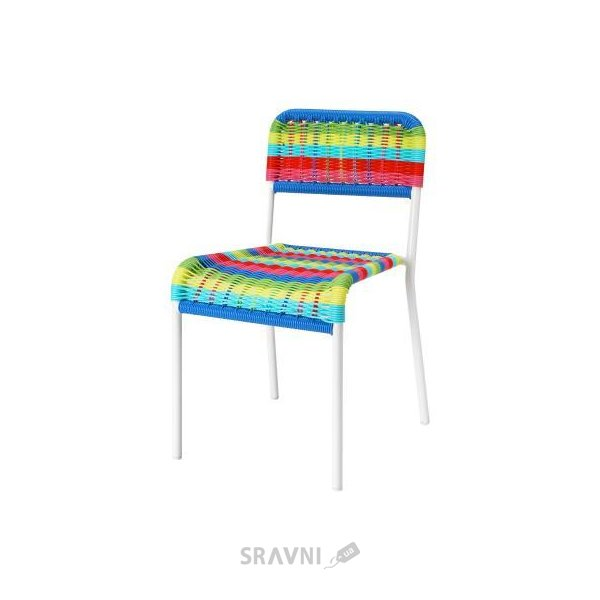Фото IKEA Fargglad Стул, разноцветный (001.010.56)