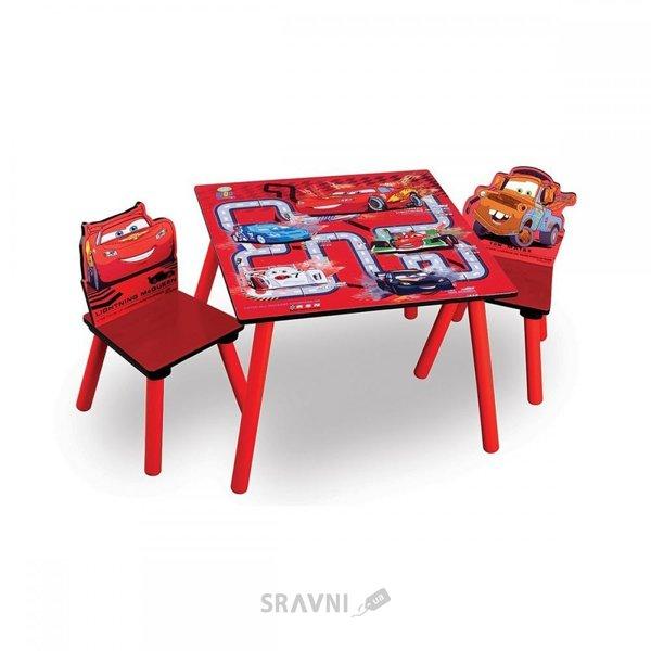 Фото Delta Children Набор детской мебели Тачки (TT89324CR)