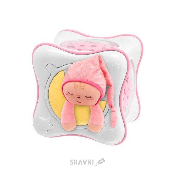 Фото Chicco Ночник-проектор Радуга Cube розовый (02430.10)