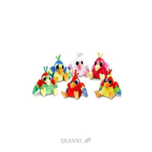 Фото KEEL TOYS Веселые попугаи 15см SF8645