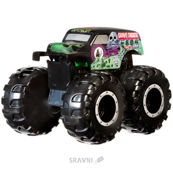 Фото Hot Wheels Grave Digger Монстр-мутант Monster Jam (CFY42-1)