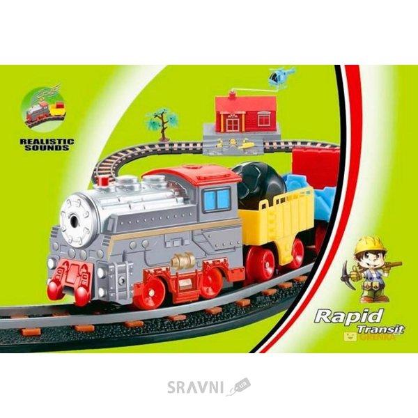 Фото LiXin Железная дорога с поездом и вертолетиком (9906)
