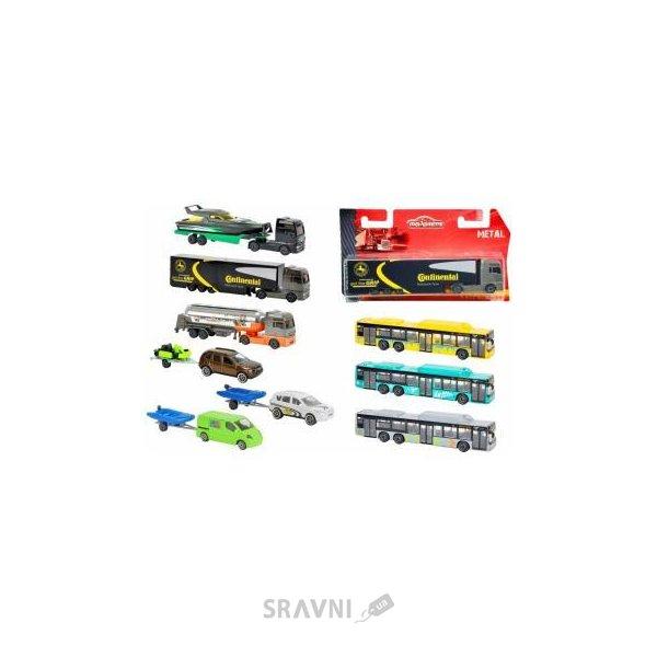 Фото MAJORETTE Машинки металлические серия Перевозки (2053183)