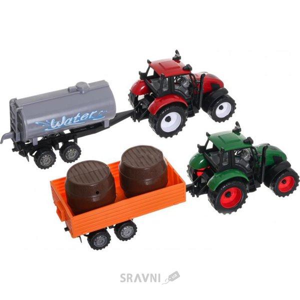 Фото Шантоу Два трактора с прицепами (JY42911)