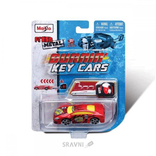 Фото Maisto Burnin Key Cars инерционные (15101)