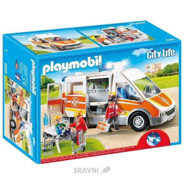 Фото PLAYMOBIL Машина скорой помощи (6685)