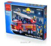 Фото Enlighten Brick Пожарные 904 Пожарные машины