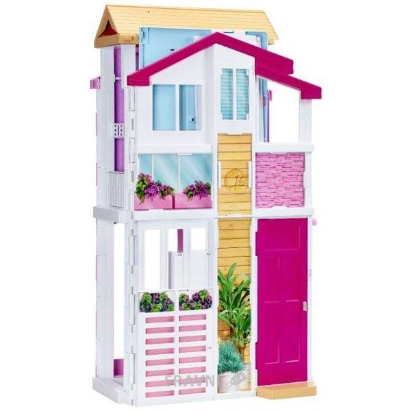 Фото Mattel Barbie Городской дом Малибу (DLY32)