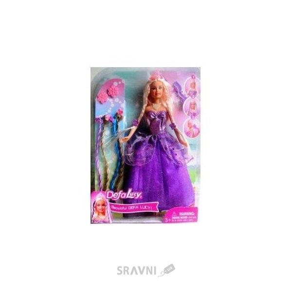 Фото Defa Кукла в наборе с аксессуарами (8182)