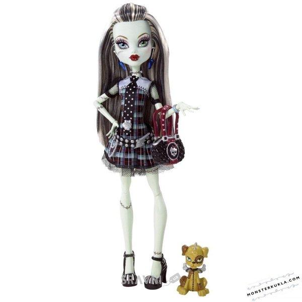 Фото Mattel Monster High Фрэнки Штейн Базовая (с питомцем) (BBC43)