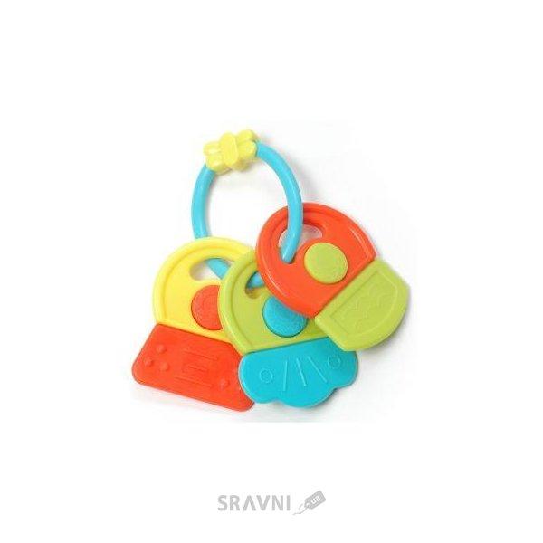 Фото Baby Team Игрушка-погремушка Ключики Разноцветная (8442)