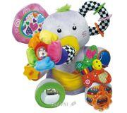 Фото Biba Toys Развивающая игрушка Занятой слоненок (039JF)