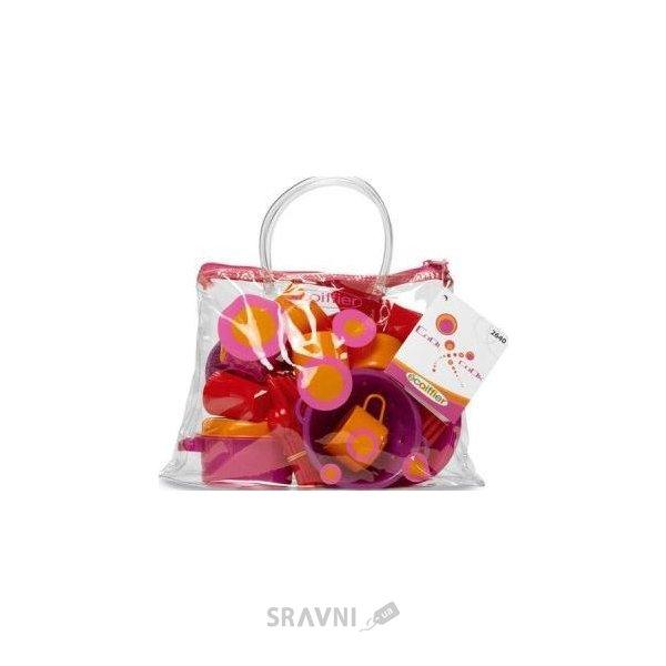 Фото Ecoiffier Прозрачная сумочка с набором посуды (2640)