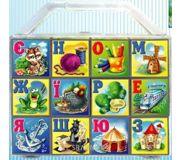 Фото Gamma Кубики с украинским алфавитом в чемоданчике (112013)