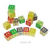 Фото Мир деревянных игрушек Набор Кубики 2 16 шт. (Д174)