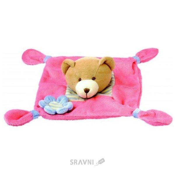 Фото Bino Игрушка платочек Медведь (86464)