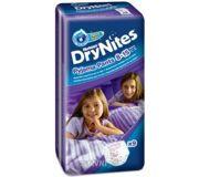 Фото Huggies DryNites для девочек 8-15 лет 27-57 кг (9 шт.)