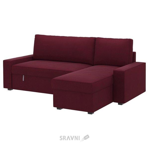 Фото IKEA VILASUND / MARIEBY Диван-кровать с козеткой (399.071.95)
