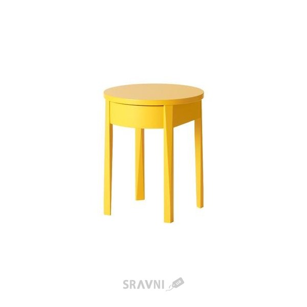 Фото IKEA STOCKHOLM Тумба прикроватная, желтый (002.451.30)