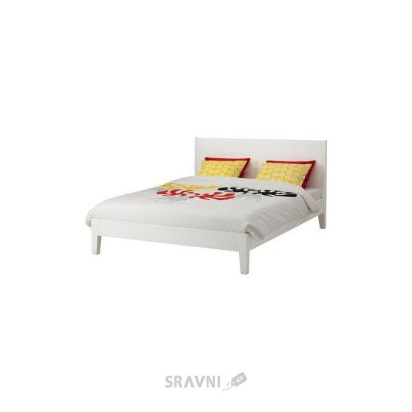 Фото IKEA NORDLI Каркас 160x200 и SULTAN LUROY основа под матрас (999.300.08)