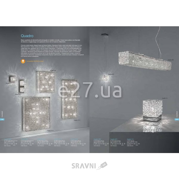 Фото Ideal Lux Lux Quadro SP1