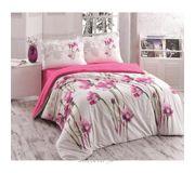 Фото Gokay Daisy двуспальный Евро белый с розовым (01007924)