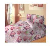 Фото Сладкий сон Розовые розы двуспальное евро 157984